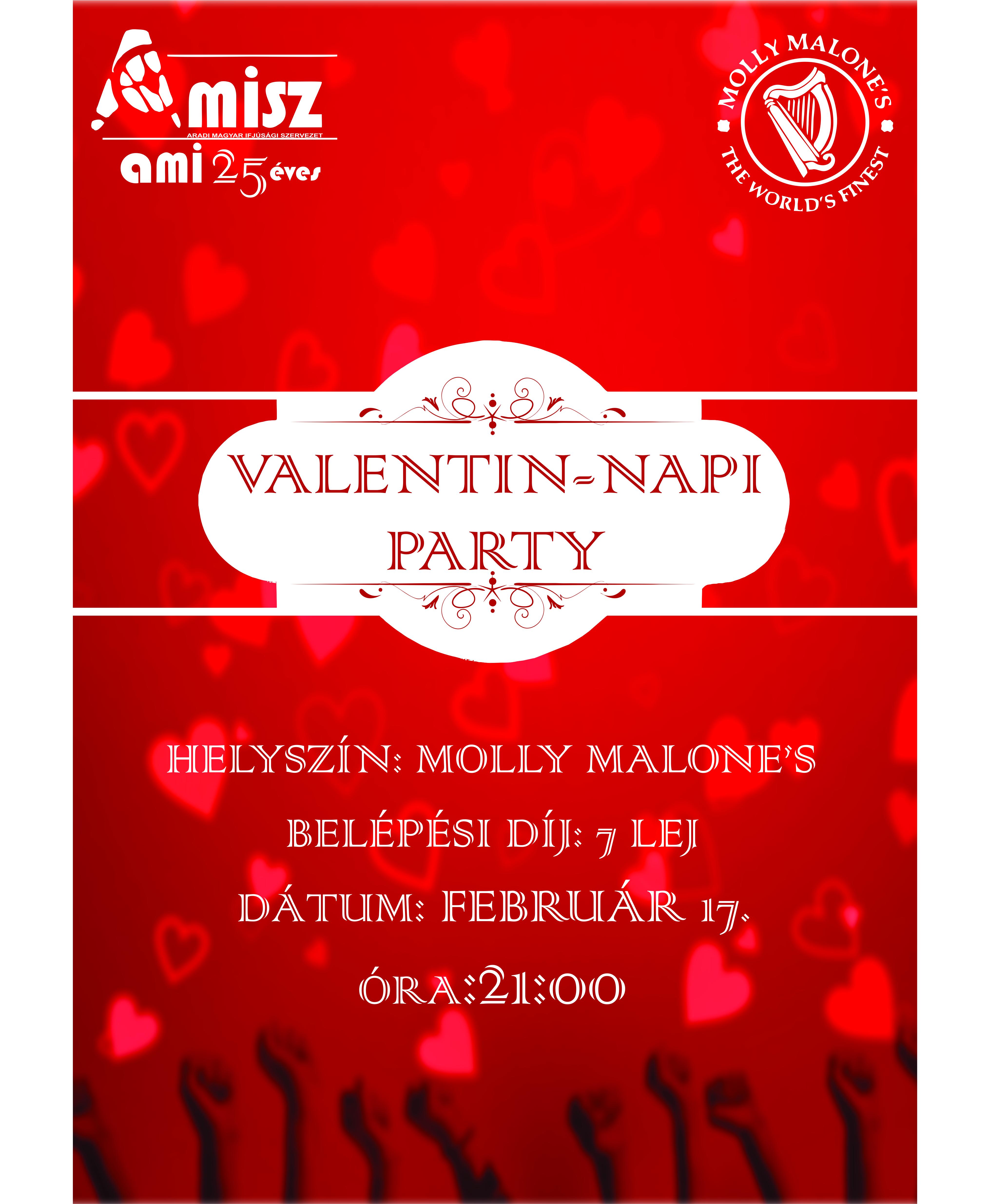 AMISZ Valentin-napi Party